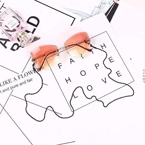 Xhtoe Cadena de Gafas Gafas de Sol de Acero Inoxidable ...