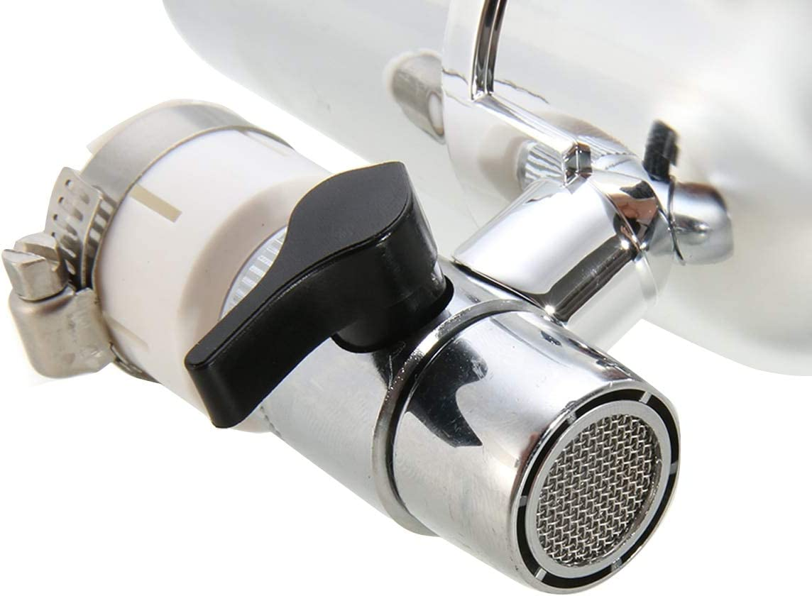 Mintus Kitchen Tap Faucet Water Filter Household Water Purifier System Chrome Faucet Mount Cleaner For Home Hardware