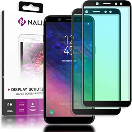 NALIA (2 Unidades) Cristal Templado Compatible con Samsung Galaxy ...