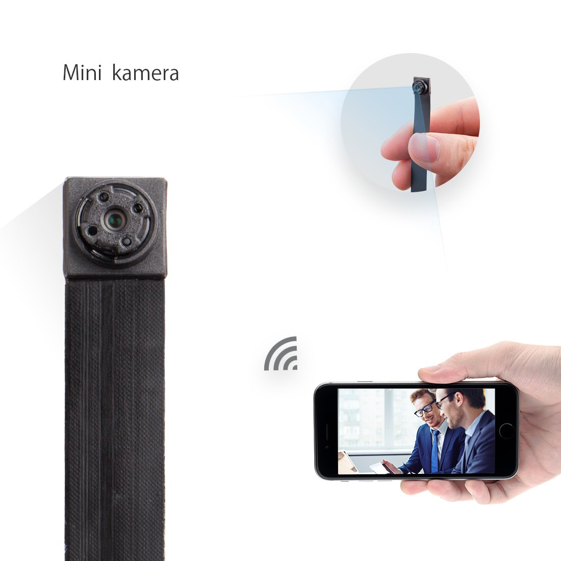 Mini Kamera ,FREDI HD 1080P Tragbare Wlan Netzwerk Klein IP Kamera Mini  Kamera P2P Drathlos