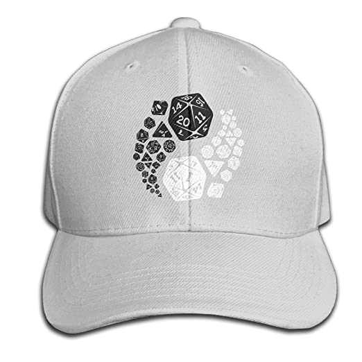 9daf83492ac Dungeons And Dragons Yin Yang Good And Evil Dnd Cotton Cap Hats Fitted Ash Baseball  Cap