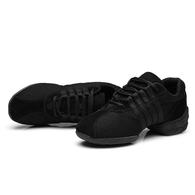 YKXLM Hombres&Mujeres Danza-zapatillas de deporte Zapatos de baile Calzado de Danza/Modernos de la danza del jazz,Modelo ESA-T01: Amazon.es: Zapatos y ...