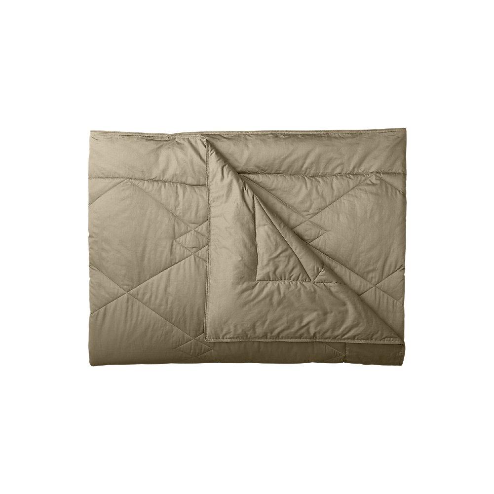 Eddie Bauer Unisex-Adult Summit Peak Down Blanket, Khaki TWIN