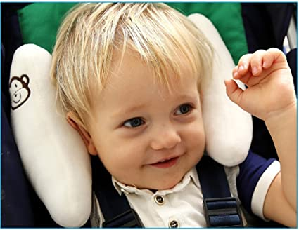 nourrissons r/églables et de sommeil de b/éb/é cou Relief poussette U Head Soutien sommeil Holder.Offers Protection pour les enfants Carseat Head Neck Support