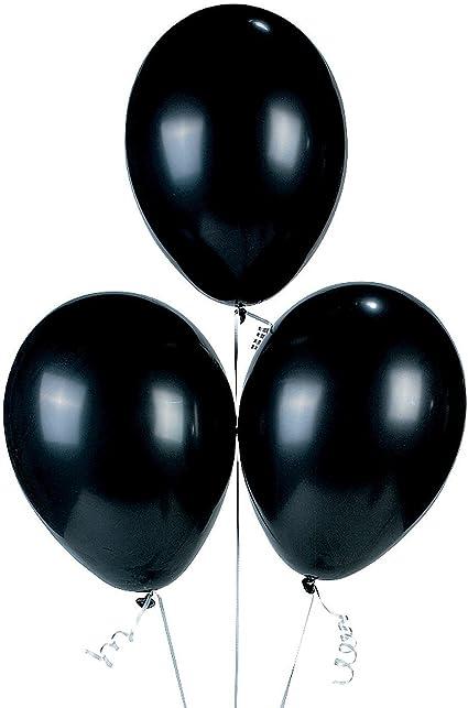 Black Balloons 100 Pcs 12 inch Latex Balloons Halloween Wedding Decoration Birthday Party Supplies Balloons