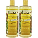 Dr. Jacobs Naturals Pure Castile Liquid Soap Face and Body Wash 32 oz. Almond Honey 2 Pack - Free of Parabens, Sulfates…