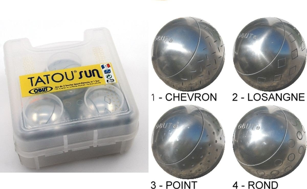 Obut TATOU SUN - Design Boule Kugel