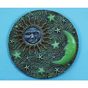 stars and stepping stones Product features design with stars and horseshoes cast iron western theme stepping stone.