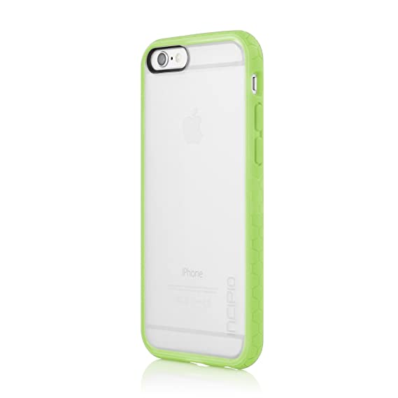 purchase cheap ab015 d140a Incipio Octane Case for Apple iPhone 6 - Retail Packaging - Frost/Green