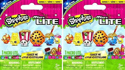 "Shopkins Micro Lites Series 1 Shopkins Micro Lites 1"" LOT OF"