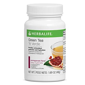 Amazon.com : Antioxidant Green Tea Pomegranate Flavor 1.69 ...