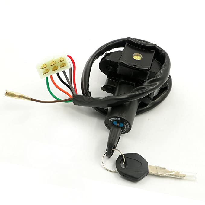 ZX900 ZX600G1 FXCNC Racing Motorcycle 7 Wire Ignition Switch Lock With Keys Fit For Kawasaki Ninja 250R,ZX-9R 600cc 1998 1994-2003,ZX6R