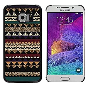 LECELL--Funda protectora / Cubierta / Piel For Samsung Galaxy S6 EDGE SM-G925 -- Sweater Christmas Pattern Design --