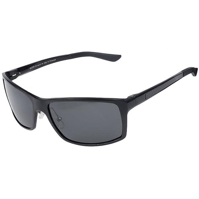 7d3e534f70 Duco Men s Driving Sunglasses Polarized Glasses Sports Eyewear Fishing Golf  Goggles 8202