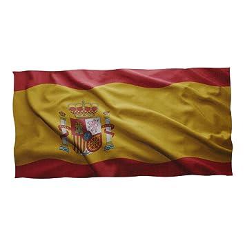 Super3Dprint Bandera de España Toalla de Playa y Piscina 74 x 37 Pulgadas: Amazon.es: Hogar