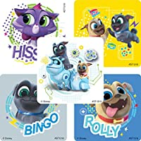 SmileMakers Puppy Dog Pals Stickers - Prizes 100 Per Pack