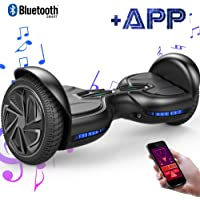 "EverCross Diablo Patinete Eléctrico Scooter Talla 6.5"" Bluetooth"