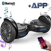 EverCross Diablo Board 6,5 Zoll Smart Self Balancing Elektroscooter Elektroroller Skateboards Bluetooth