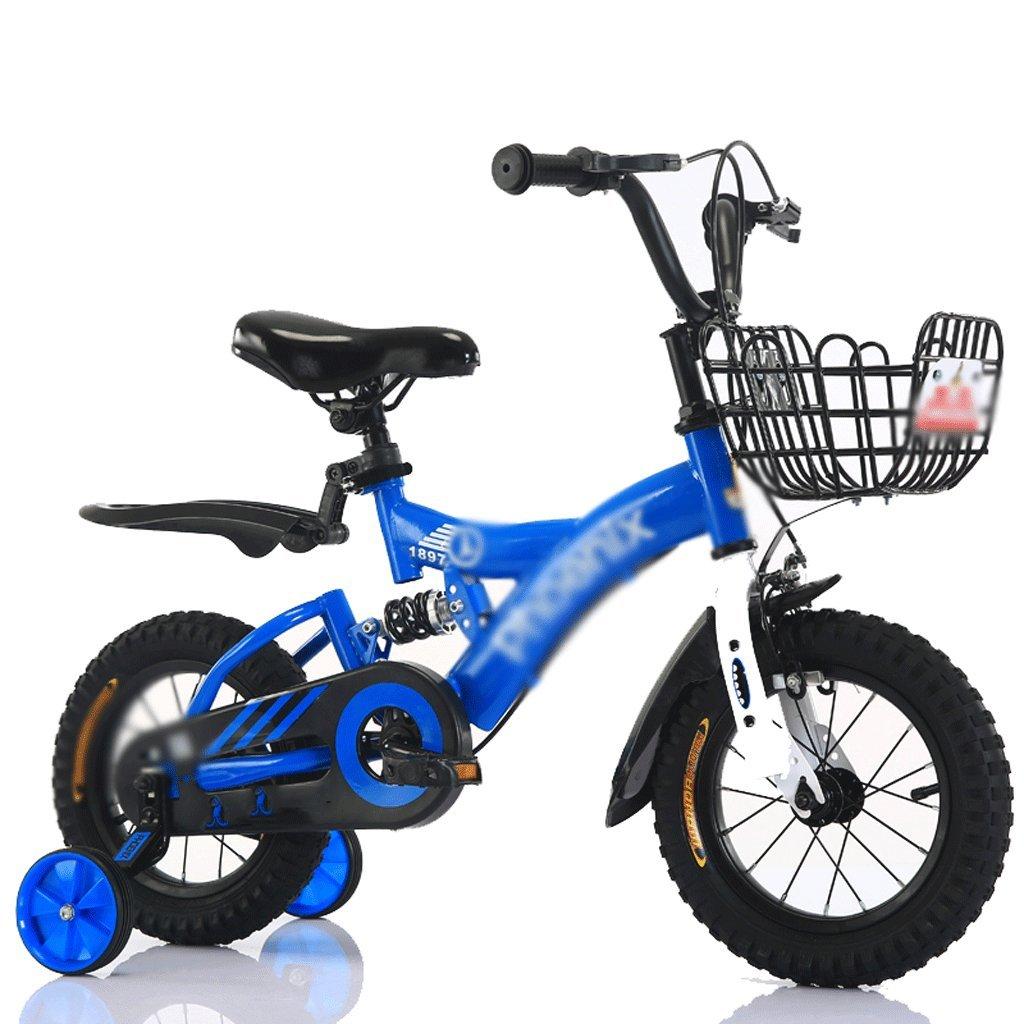 自転車 子供のダンピング自転車2-3-4-6-7-8-9-10歳のベビーバイク12-14-16-18インチ男性と女性 (サイズ さいず : 14 inch) B07DZRFGJN 14 inch 14 inch