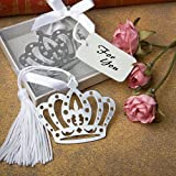 120 Crown Design Bookmark Favors