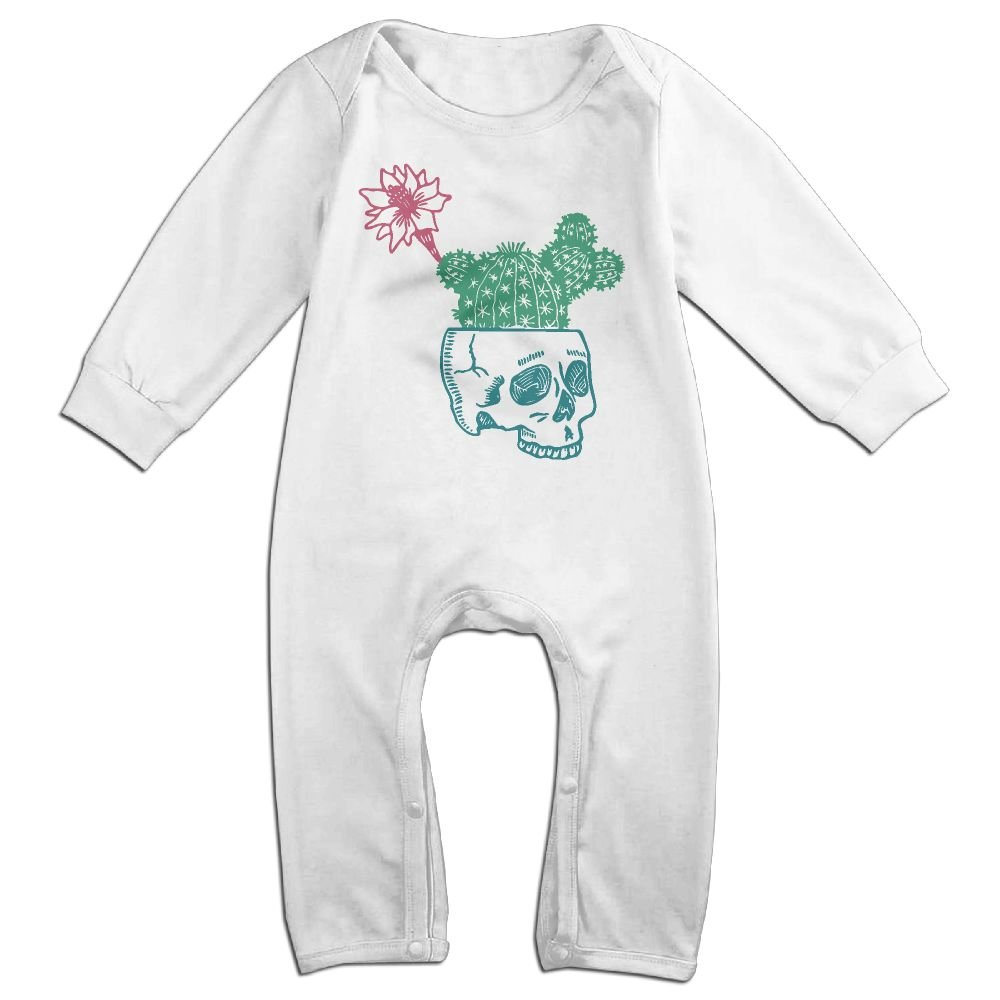 Mrei-leo Baby Boy Jumpsuit Cactus Skull Toddler Jumpsuit