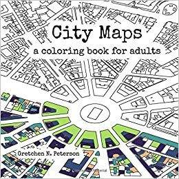 Amazon.com: City Maps: A coloring book for adults (9780692670934 ...