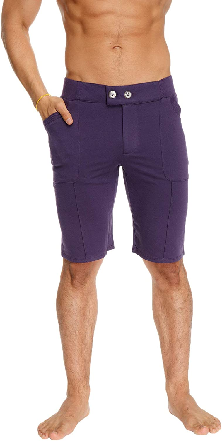 4-rth Mens Front Pleated Dress Short with Pockets at  Men's Clothing store