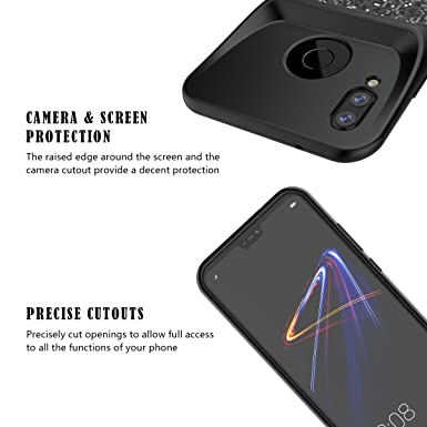 Amazon.com: Huawei P20 Lite/Nova 3e Battery Case, BasicStock 4700mAh Rechargeable Portable External Juice Power Bank Extended Battery Backup Charger Battery ...
