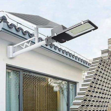 SOLIGHTS Farola Solar LED Exterior Impermeable IP65 Lámparas Solares 30W~300W,con Panel Fotovoltaico Inclinable Y Mando A Distancia/Sensor Crepuscular para Calle,Patio,jardín Etc,300W: Amazon.es: Hogar