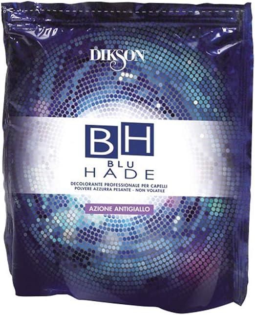 Decolorante profesional para cabello Dikson, azul («Blu Hade»), 500 g