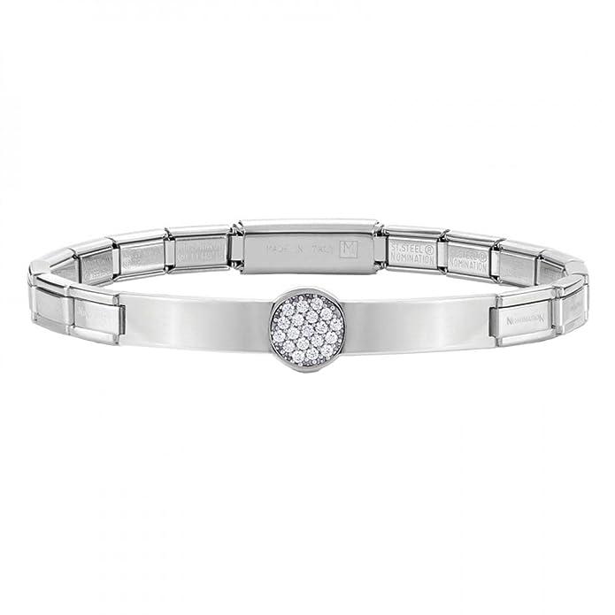 Nomination Trendsetter 021112/001 Women's Bracelet, Stainless Steel, 20 cm