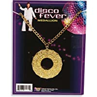 70s Disco Fever Medallion