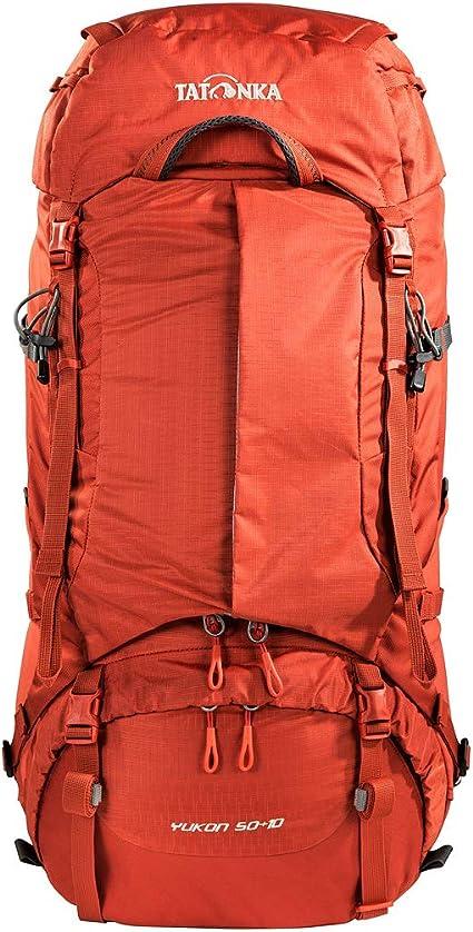 Tatonka Yukon 50+10 Trekkingrucksack mit Frontzugriff und verstellbarem R/ückensystem 60 Liter f/ür Herren und Damen