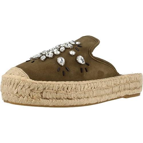 Alpargatas para Mujer, Color Verde, Marca CONCHISA, Modelo Alpargatas para Mujer CONCHISA ARAXI 0391 Verde: Amazon.es: Zapatos y complementos