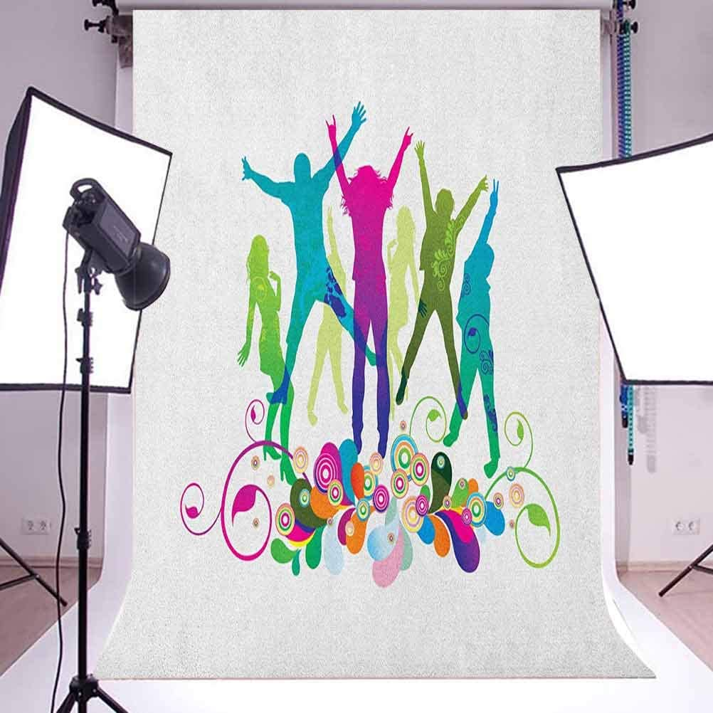 7x10 FT Coffee Art Vinyl Photography Backdrop,Continents World Map with Different Types Inscription Splashes and Blots Background for Baby Shower Bridal Wedding Studio Photography Pictures