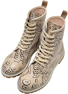 Dogo Shoes Damen Stiefel Harry Potter and Hedwig Synthetik