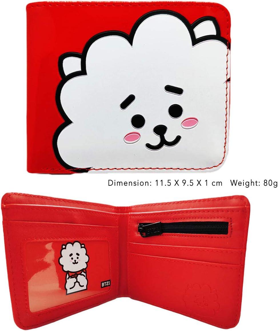 BTS Merchandise galleta Monedero de BTS TATA KOYA Cooky MANG RJ SHOOKY CHIMMY Van Kpop BTS Merch Army BTS regalo