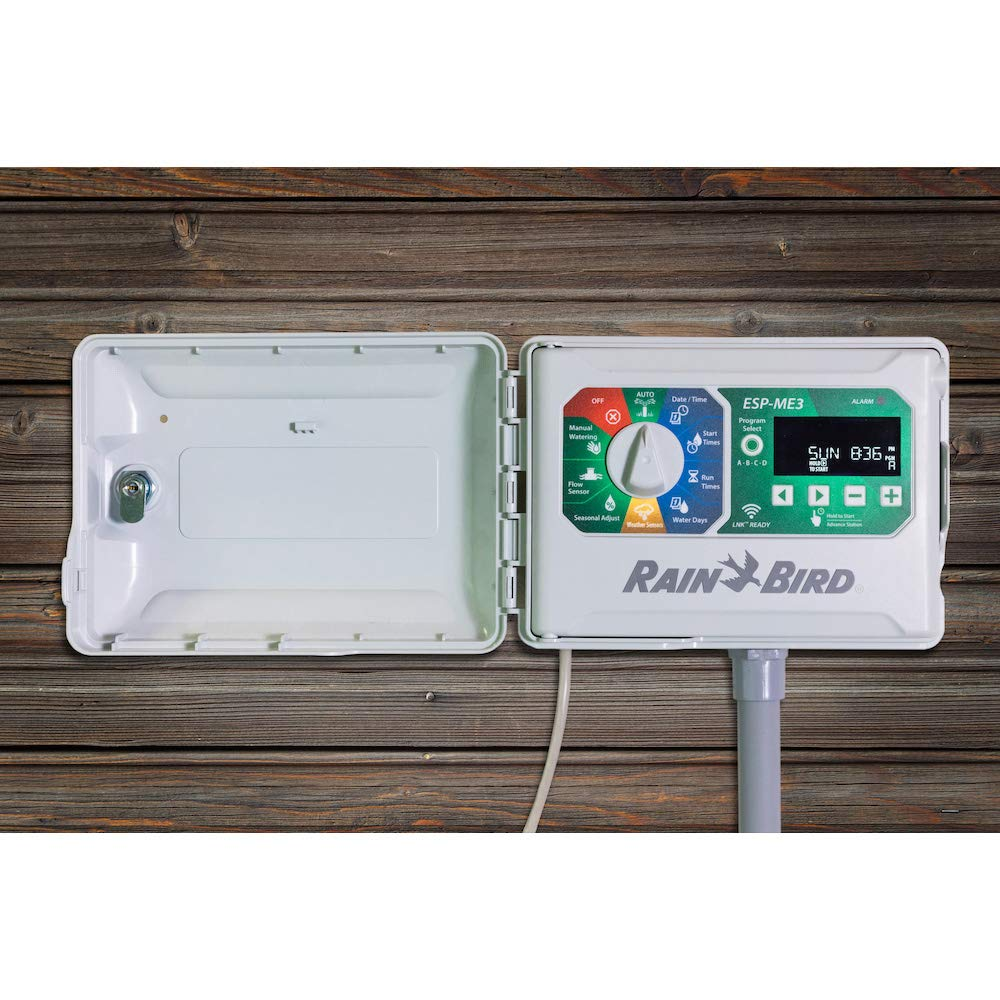 Rain-Bird Controller Indoor Outdoor Lawn Irrigation Sprinkler Timer ESPME3 + 1 Module Only