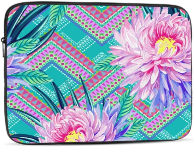 Designed to Fit Any Laptop//Notebook//ultrabook//MacBook with Display Size 11.6 Inches Fashion Spring Fragrant Art Flowers Pattern Neoprene Sleeve Pouch Case Bag for 11.6 Inch Laptop Computer