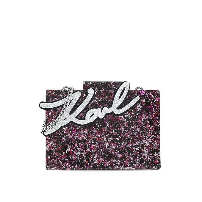 Karl Lagerfeld Accesorios de Mujer Bolso Clutch K Shine Multicolor Otoño  Invierno 2019  Amazon.es  Ropa y accesorios 5aeb87fa5da
