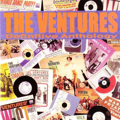 The Ventures: 32 stereo traks.Silver City; Pipeline; Yellow Jacket; the Ninth Wave; Sputnick; El Chumbanchero; Lolita Ya-ya; Counterpoint; Telstar; Apache; the Ventures: Definitive Anthology