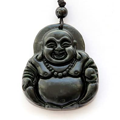 Amazon natural stone happy buddha pendant jewelry natural stone happy buddha pendant aloadofball Image collections