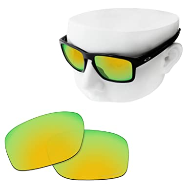 8338e60810b OOWLIT Replacement Lenses Compatible with Oakley Sliver F Sunglass 24K  Combine8 Polarized