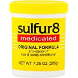 Sulfur8 Medicated Anti-Dandruff Hair and Scalp Conditioner Original Formula, 7.25 oz