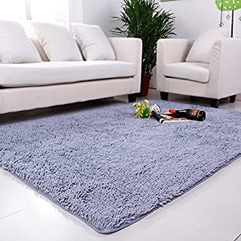 Amazon Com Maxyoyo Chenille Area Rug Large Carpet Rug For
