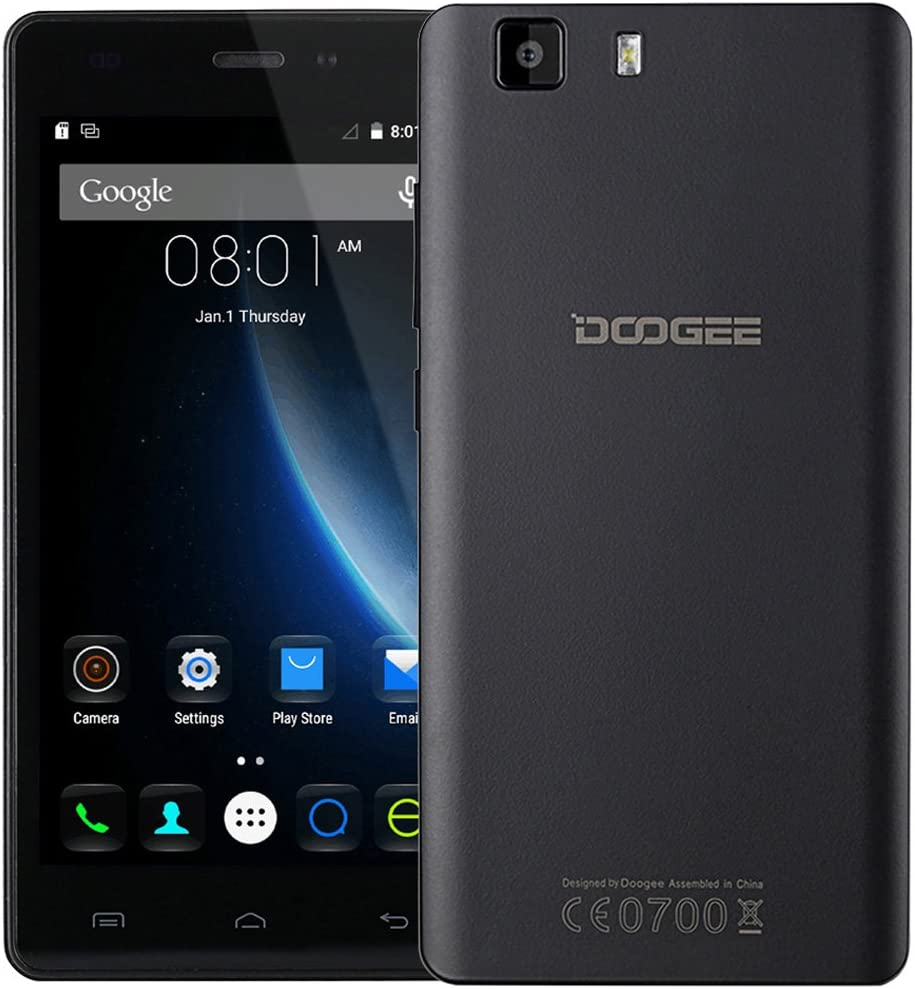 DOOGEE X5S - Smartphone libre android 4G Quad Core 5.0