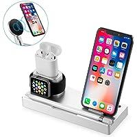 FOUR Chargeur sans Fil, Pad de Recharge sans Fil Compatible avec iPhone X, iPhone 8/8 Plus, Samsung Galaxy Note 8 S6 S7 S8/S8 Plus