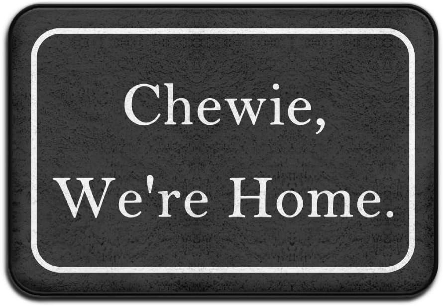Chewie, We're Home. Cool 15.723.6 In Absorbent Anti Slip Floor Rug Entrance Rug