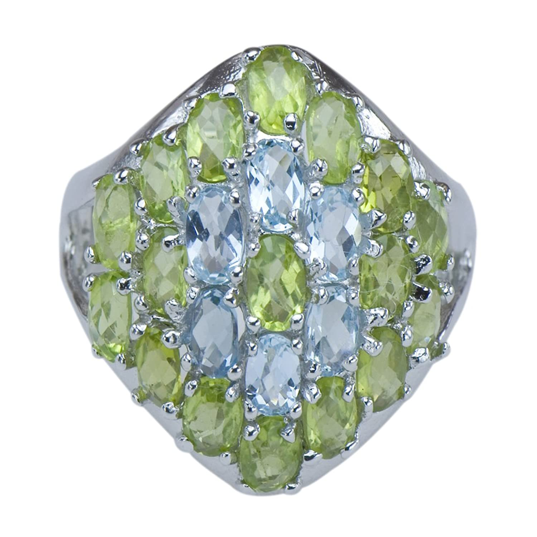 Mia Diamonds 925 Sterling Silver Medium Block initial F Charm