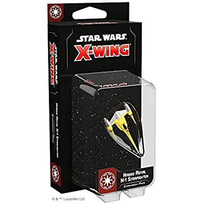 Star Wars X-Wing 2ND Ed: Naboo Royal N-1 Starfighter: Toys & Games